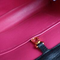 美品 LOUIS VUITTON ルイ ヴィトン カプシーヌMM ハンドバッグ M48864 トリヨンレザー ノワール トートバッグ【本物保証】【中古】