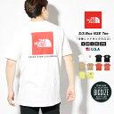 【5/7 15時まで3850円 メール便のみ送料無料】 THE NORTH FACE ザノースフェイス tシャツ メンズ 大きいサイズ 半袖 半t ロゴt バックプリント REDBOX TEE レッドボックス プリント B系 ストリート ファッション S M L XL 2XL LL 3L NF0A4763 S/S BOX NSE TEE・・・