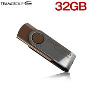 TEAMUSBメモリ32GB回転式TG032GE902CX