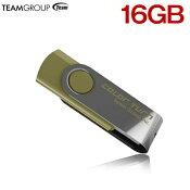 TEAMUSBメモリ16GB回転式TG016GE902GX