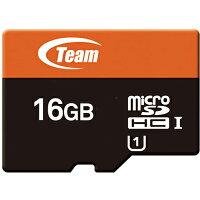 送料無料 TEAM チーム microSDカード 16GB SDHC UHS-1対応 SDアダプタ付き TUSDH16GUHS03 マイクロSDカード 任天堂スイッチ 任天堂 スイッチ switch ニンテンドースイッチ sdカード sd