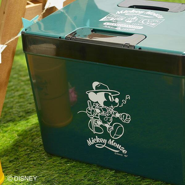 ♪DAP15-YMディズニー クールボックス #150 YAMA ミッキー グリーン アイボリー かっこいい ペットボトル 缶ジュース 保冷力 日本製 アウトドア レジャー 行楽 釣り フィッシング BOX スポーツ キャンプ