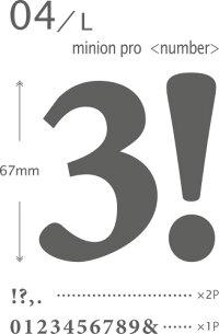 ウォールステッカー「04-Lミニオンプロ<ナンバー>」【スキュウグレー】【小物商品3点以上で送料無料】