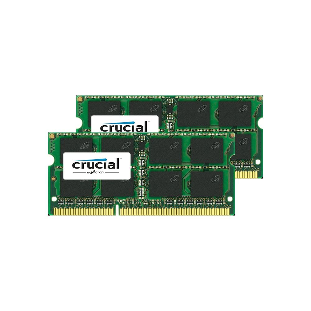 CFD W3N1600CM-8G Crucial スタンダードモデル DDR3L-1600 ノート用メモリ 204pin SO-DIMM 8GB 2枚組画像