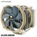 サイズ SILVER ARROW サーマルライトブランドサイドフロー型CPUクーラーPWM仕様ラウンドフレー...