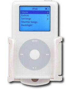 【エントリーでポイント5倍】BRACKETRON IPM-201 携帯・iPodを車のエアコン吹出し口に固定するアダプターです♪(ホワイト)【在庫処分特価!!】