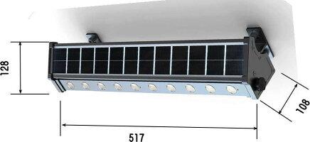 ソーラーLEDライトSLL08-4W-200L
