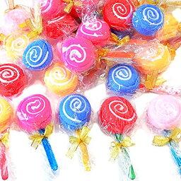 プチギフト ミニタオル キャンディー型 個別 包装 SW421 おまかせ10個