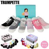 【どれでも2点で5%オフクーポン!】 Trumpette / トランペット 靴下 MARYJANE マリージェーン ベビーソックス [ 6足セット ] [ 0-12M (生後0〜12ヶ月前後) ] 【 ソックス Baby Socks 出産祝い 赤ちゃん用靴下 くつ下 女の子 】 【 JITTERBUG JENNY 】