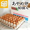 あやめ卵 80個 たまごかけごはん専用高級玉子!! あんしん やさしい うめぇ たまごです♪【鶏卵 お買い得 訳あり ランキング ギフト お試し 卵かけご飯 産みたて 生みたて たまご 卵 玉子 エッグ egg】【RCP】