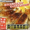 ■B級グルメ■青森県産の奥入瀬黒豚を使った餃子あふれる肉汁が旨い!!!ビールのおつまみに最高!!
