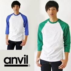 アンビル(anvil)ラグランTシャツ