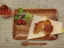 アカシアトレイ レクタングルL(木製トレイ)【500WORKS.】【木製】【小物入れ】【食器】 Creer/クレエ