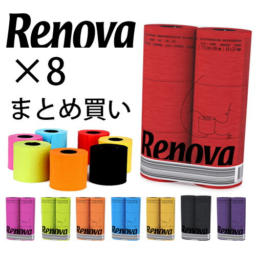 Renova 6Roll Pack - レノヴァ | ポルトガル産高級トイレットロール | トイレットペ...