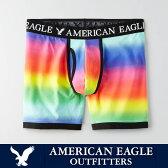 【American Eagle】アメリカンイーグルボクサーパンツ レインボー 虹色 ae1823