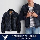 American Eagle・アメリカンイーグル【AE Jacket】デニムジャケットジージャン ビンテージ加工 ae1841