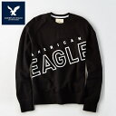【American Eagle】アメリカンイーグル AE スウェットメンズ トレーナー ae1920 ブラック・グレー