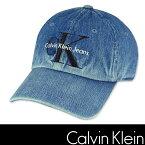 2/23(金) 10時から24時間■ポイント20%還元■Calvin Klein カルバン クライン デニム キャップ ハット ストーンウォッシュ Baseball Dad Hat ck344