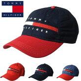 【TOMMYHILFIGER】トミーヒルフィガーベースボールキャップ帽子CAPHATt511ネイビーレッド