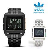adidasoriginalsアディダスオリジナルス腕時計ウォッチARCHIVE_M1CK3106CK108並行輸入品限定ad20ブラック/シルバー