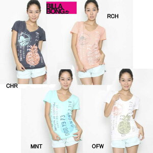 20%OFF!!BILLABONG 2012春夏【BILLABONG】ビラボン LOCALS ONLY レディースTEE 半袖Tシャツ...