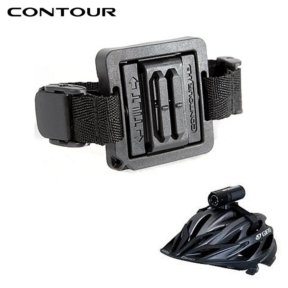 【楽天市場】【contour】コンツアー 自転車ヘルメット用マウント ハンズフリーアクセサリー スポーツビデオカメラ