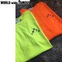 【WORLD WIDE FAMOUS】ワールドワイドフェイマス 2017summer TOKYO 半袖Tシャツ クルーネック メンズ レディース S・M・L・XL 2カラー 【あす楽対応】