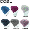 【Coal】コール The Coco レディースビーニー オーバーサイズビーニー ニット帽 6カラー