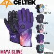 【CELTEK】セルテック2016-2017 MAYA GLOVE レディース スノーグローブ 5本指 スノーボード 5カラー【あす楽対応】