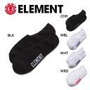 【ELEMENT】エレメント LOW-RISE SOCKS メンズ ソックス スニーカー 靴下 5カ
