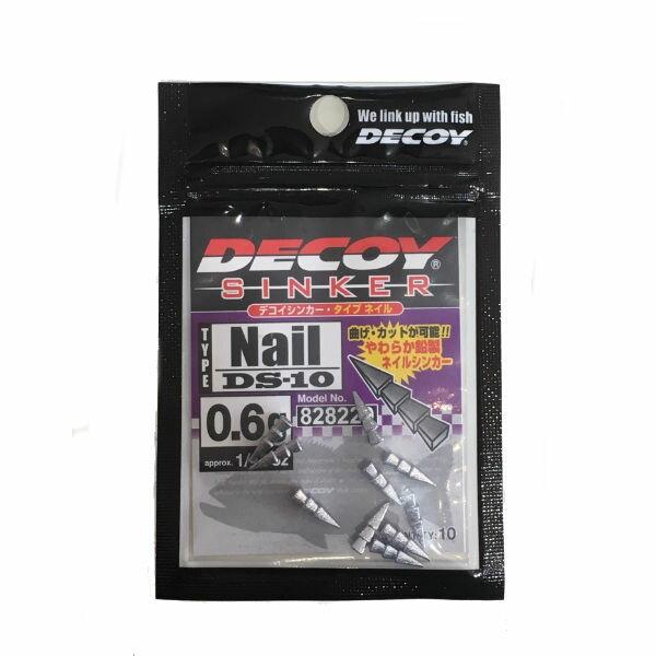 フィッシング, オモリ DECOY NAIL SINKER 0.6g (148oz) 10