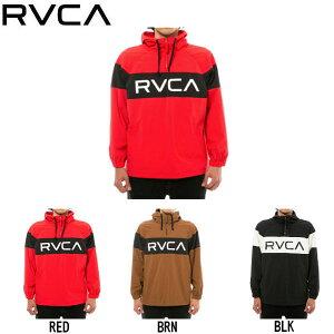 【RVCA】ルーカ 2019秋冬 RVCA ANORAK JACKET メンズ ルーカ アノラック ジャケット アウター S / M / L / XL カラー【あす楽対応】
