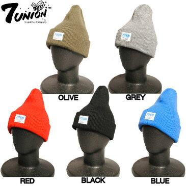 【7UNION】2014秋冬 7USB/WARK SHOP メンズビーニー ニット帽 帽子/5カラー