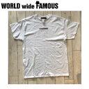 【WORLD WIDE FAMOUS】ワールドワイドフェイマス 2018春夏 MDLN T メンズ レディース キッズ 半袖Tシャツ ティーシャツ トップス TEE YS-2XL 【あす楽対応】
