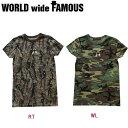 【WORLD WIDE FAMOUS】ワールドワイドフェイマス 2018春夏 KIMYE LONG T レディース ロング半袖Tシャツ ティーシャツ トップス TEE XS-XL 2カラー 【あす楽対応】