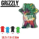 【GRIZZLY】グリズリー Grizzly Grease グリース WAX ワックス スケートボード スケボー 滑走 レール ボックス コーピング 滑る 4カラー【正規品】