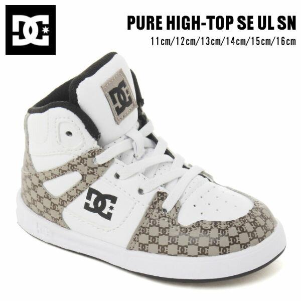 靴, スニーカー DC Shoes 2020 PURE HIGH-TOP SE UL SN 11cm16cm XKCW