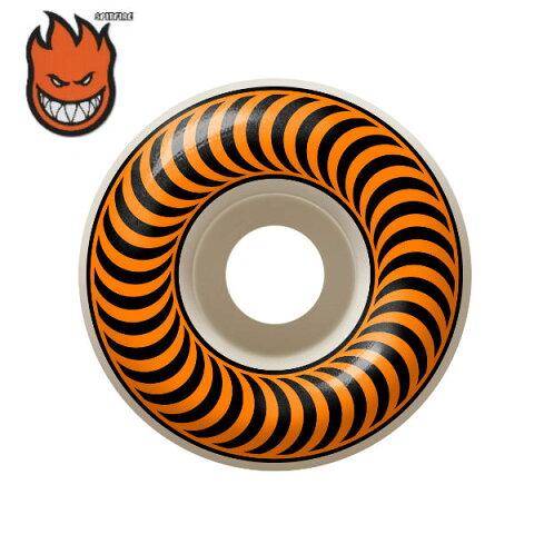 【SPIT FIRE】スピットファイアー ウィール タイヤ CLASSICS クラシック 53mm 99A オレンジ 4本セット ステッカー付き スケートボード スケボー【正規品】