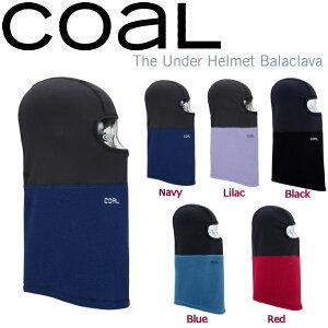 【定番アイテム】【COAL】コール The Under Helmet Balaclava メンズ レディース バラクラバ フェイスマスク カシミア風 スノーボード 5カラー【あす楽対応】