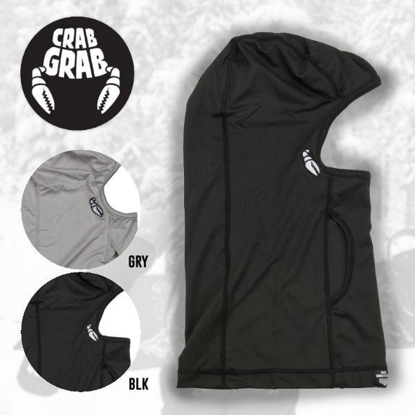【CRABGRAB】クラブグラブ FACE UNDERWEAR メンズバラクラバ フェイスマスク 目指し帽 2カラー 【あす楽対応】
