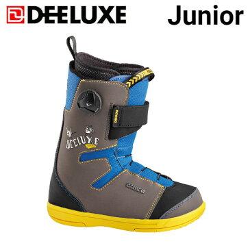 【特典あり】【DEELUXE】ディーラックス 2018-2019 Junior ジュニア キッズ 子供用 スノーブーツ スノーボード スノボー 靴 20.5cm-23.5cm【あす楽対応】
