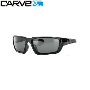 【CARVE】カーブ Empire BLACK POLARIZED/視界が鮮明になる偏光レンズ! メンズサングラス 男性向け 偏光レンズ UVカット/1カラー