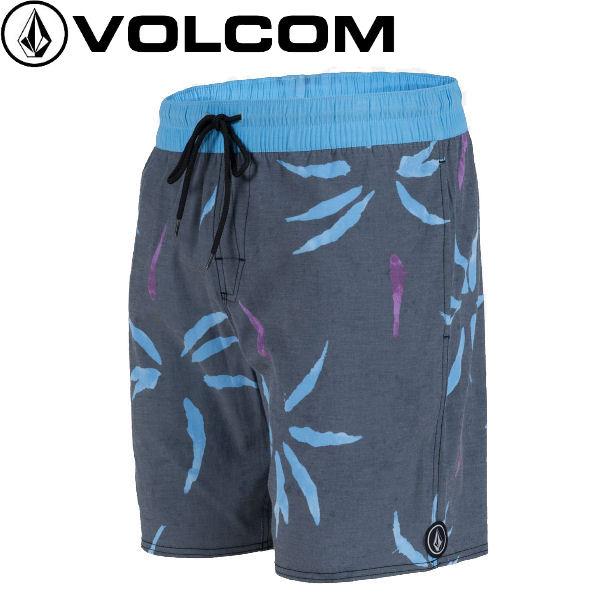 【VOLCOM】ボルコム2015春夏MUDCLOTHメンズサーフパンツ海パンボードショーツ水着膝上丈サーフィン海水浴S?M?L?XL?XXLBLK【あす楽対応】