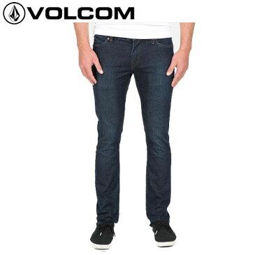 【VOLCOM】ボルコム/2X4 Denim メンズストレッチデニム 長ズボン ロングパンツ ボトムス/Cbl/サイズ28-36インチ【あす楽対応】【正規品】