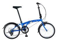 折りたたみ自転車 SUV D7 Airless ダホン 自転車 20インチ 折りたたみ 7段変速ギア エスユーヴィー D7 エアレス Cobalt Blue コバルトブルー ギア付 通販 おしゃれ