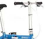 【送料無料自転車ルノー(RENAULT)自転車】折りたたみ自転車ブルー/青【14インチ軽量ギアなし折りたたみ自転車】LIGHT8(AL-FDB140)(ライトエイト)