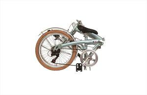 【<送料無料自転車(沖縄・北海道除く)>ルノー(RENAULT)】折りたたみ自転車ホワイト/白【20インチ・軽量・外装7段変速ギア付き】AL-FDB207