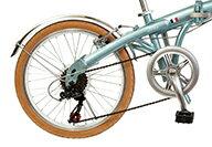 【<送料無料折りたたみ自転車ルノー(RENAULT)自転車】ホワイト/白【20インチ自転車軽量外装7段変速ギア付き】ルノー自転車AL-FDB207Dギア付きで使いやすい折りたたみ自転車