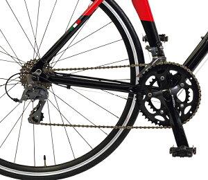 【送料無料ロードバイクフェラーリFerrari自転車】レッド/赤【700cクロスバイク外装16段変速ギアアルミ前後クイックレリーズハブ】自転車R7016CLARIS
