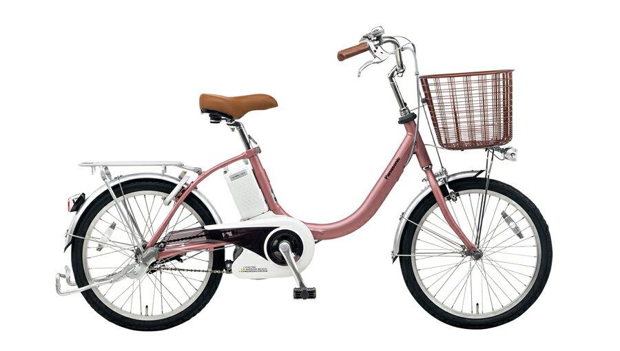 電動自転車 パナソニック Panasonic ビビ・LS KE-ELLS03 M 20インチ マットピンク ピンク 電動アシスト自転車 格安 激安 電動自転車 電動アシスト自転車 電動ママチャリBAA 軽量:ゴーゴーサイクリング
